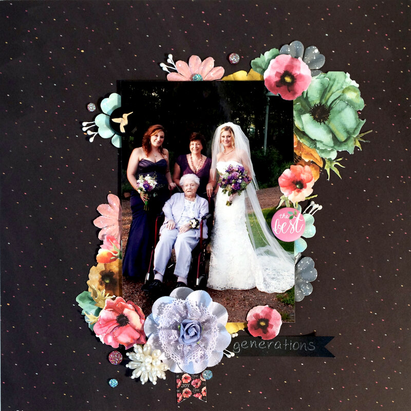 Generations (Wedding Layout)