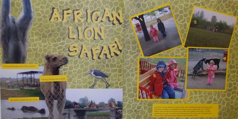African Lions Safari