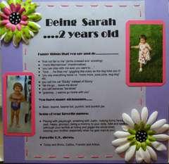 Being Sarah