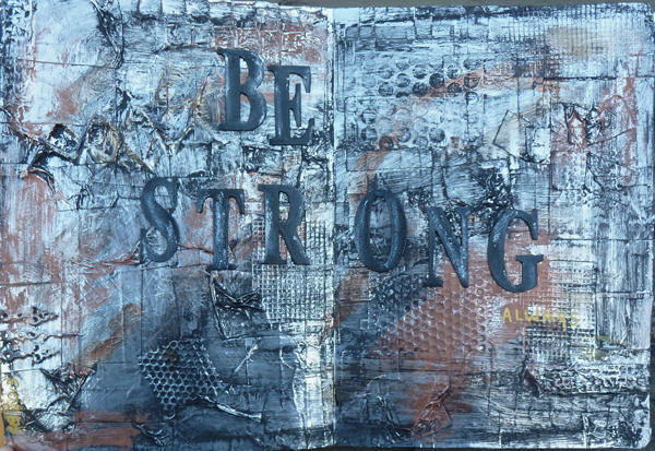 Be...Art Journal Page