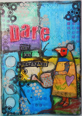 Dare...an Art Journal page