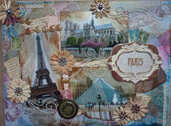 My Paris   9 x 12 canvas
