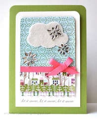10th Day of Christmas Cards - Let It Snow