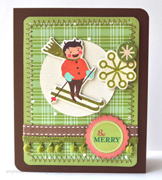 DAY 3 - 12 Days of Christmas Cards - Be Merry