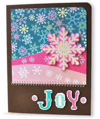 4th DAY - 12 Days of Christmas Cards - Joy