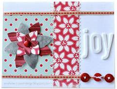 Day 7-12 Days of Christmas Cards - Joy