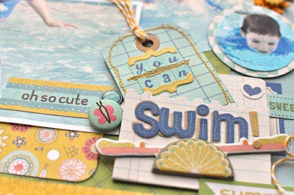 You Can Swim! *New Crate Paper - Neighborhood*