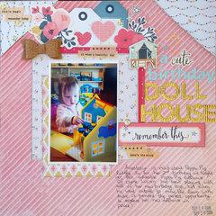 A Cute Birthday Dollhouse