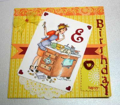 Birthday card for Elizabeth