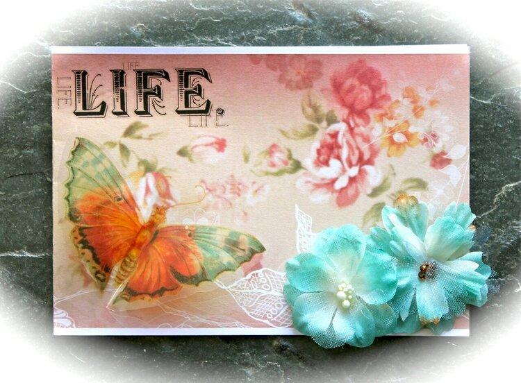 Life Card *Meg's Garden / Helmar*