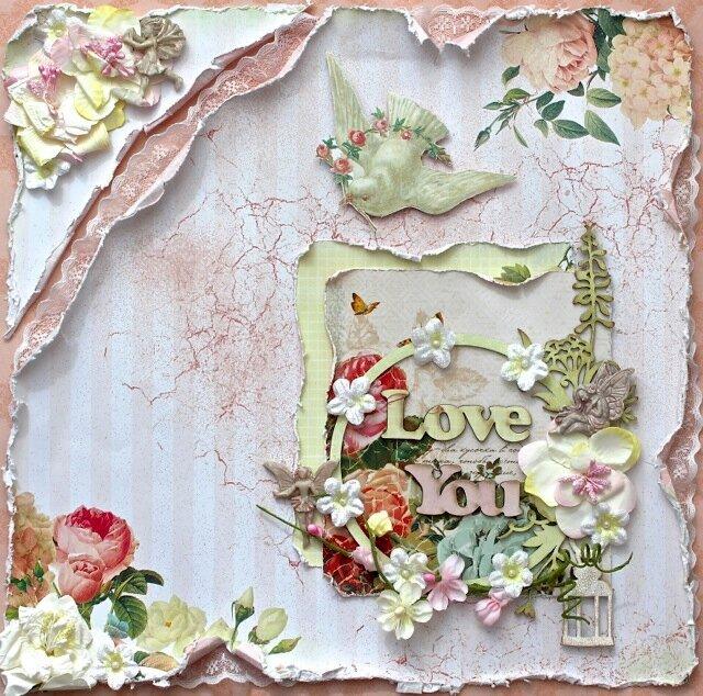 Love you display (C'est Magnifique kit)