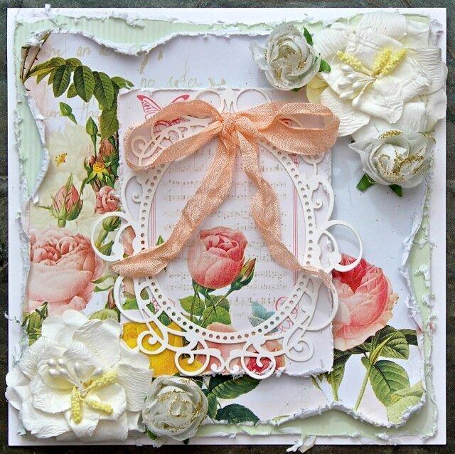 Wedding card (C'est Magnifique kit)