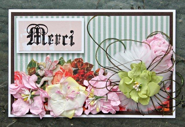 Merci Card (C'est Magnifique Kit)