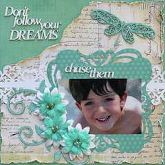 Chase your Dreams *Swirlydoos Kit Club + 2Crafty Chipboard