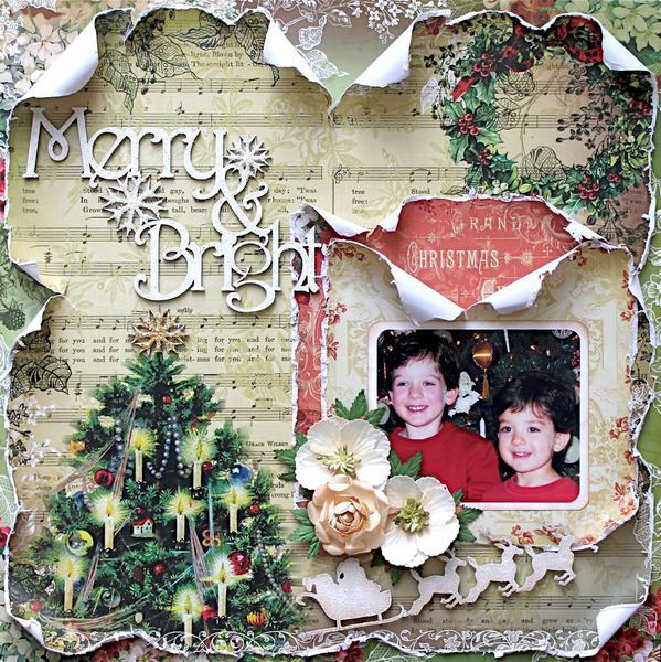 Merry and Bright (Meg's Garden/2Crafty/Helmar)