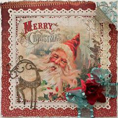 Merry Christmas Display layout *Swirlydoos kit club*
