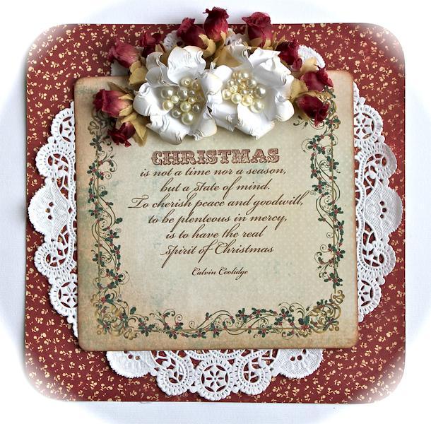 Christmas is... oversized gift tag *Swirlydoos kit club*