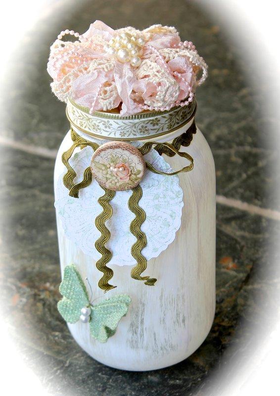 Altered Jar #2 *Swirlydoos Kit Club*