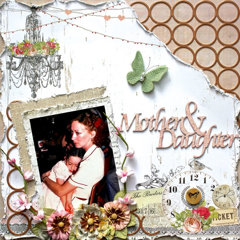 Mother and Daughter *Swirlydoos Kit Club/ Dusty Attic*