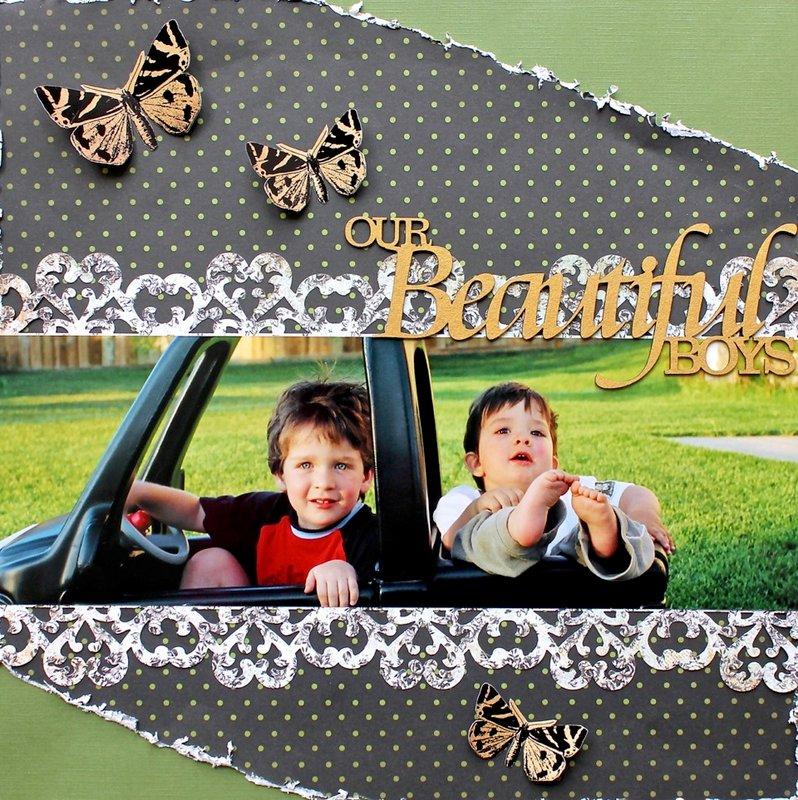 Our Beautiful Boys *Swirlydoos/ Dusty Attic*