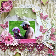 Forever Yours (Swirlydoos kit/ Dusty Attic chipboard)