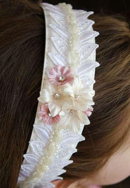 Flower Girl Headband (Green Tara)