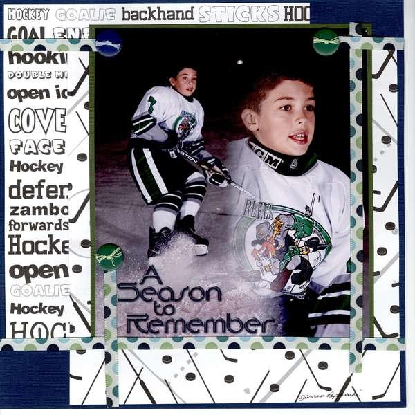 Hockey Portrait