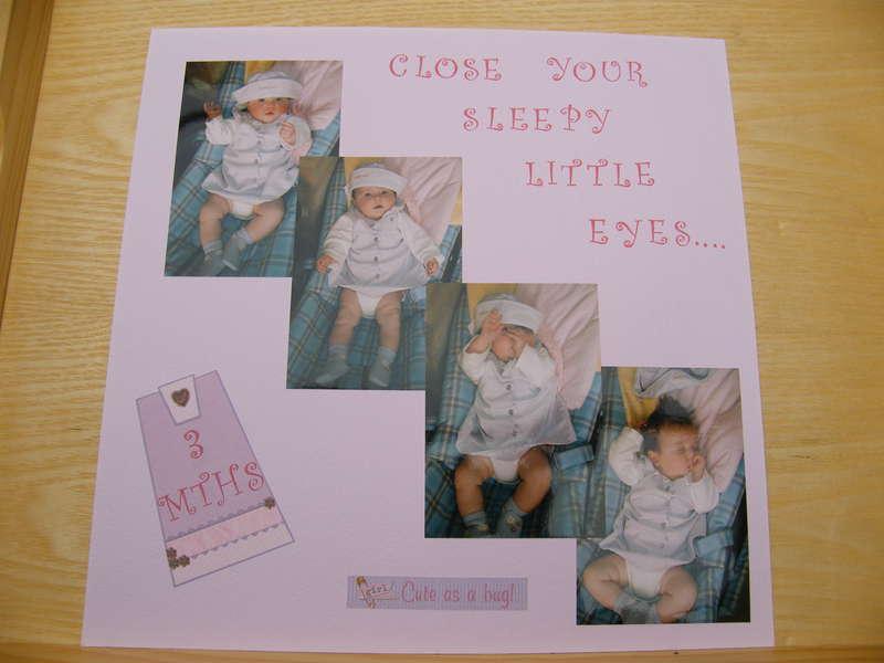 close your sleepy little eyes