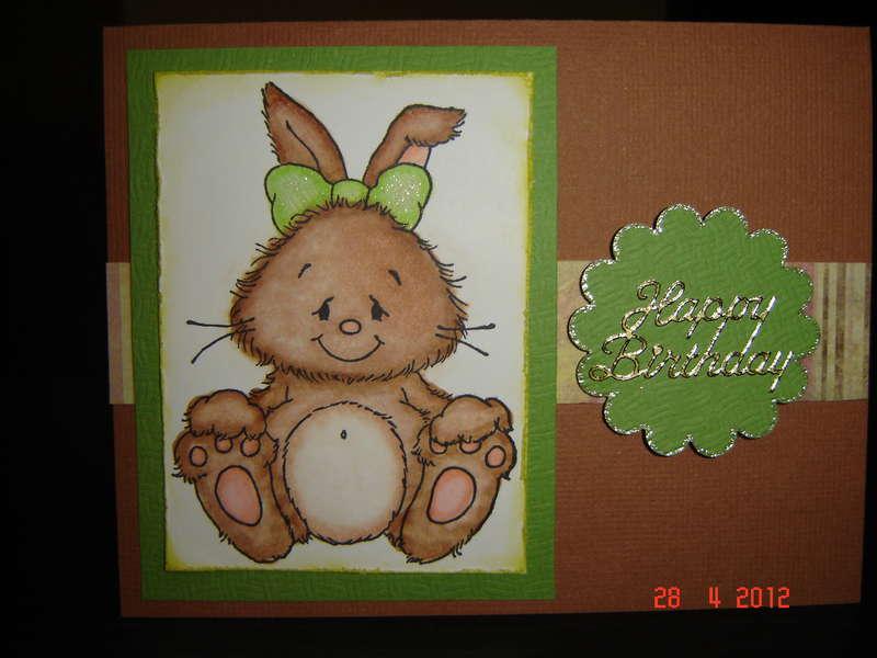 Brown Bud Bunny