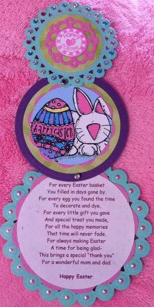 Easter telescoping card