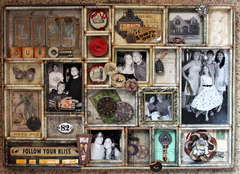 Tim Holtz Configurations Tray *Let's Capture Our Memories*