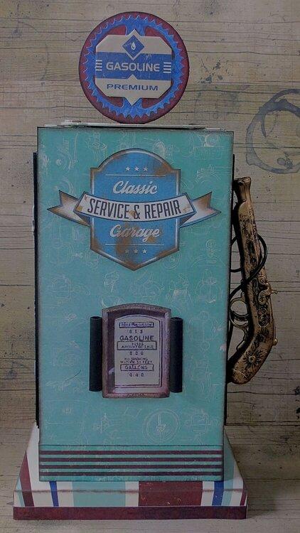 Gasoline Pump by Megan Gourlay