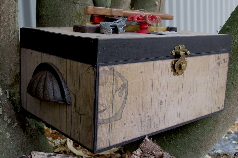 Tool Box by Megan Gourlay