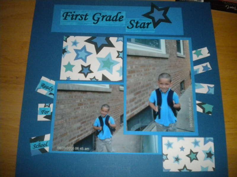 First Grade star