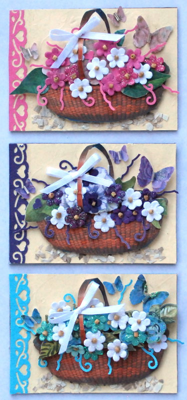 "Mar-ATC-Swap-Punch ""Basket of flowers"""