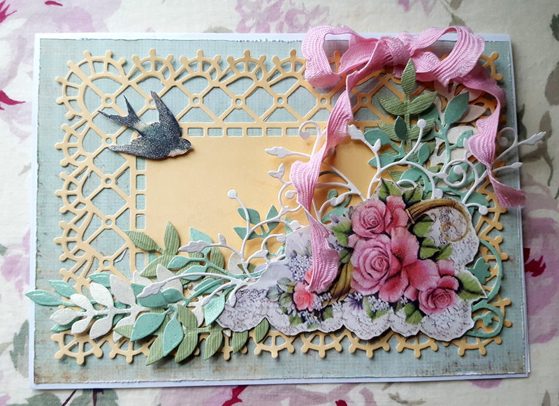 """""""Spring Garden"""" card"""