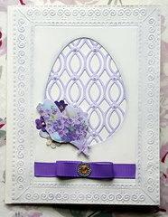 """""""Easter Blessings"""" card"""