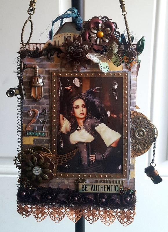 "Steampunk Project ""Hanging Loaded Pocket Tag"""