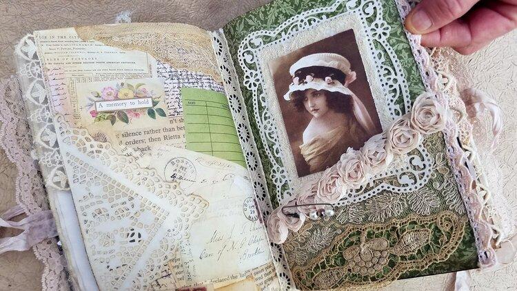 Lace Junk Journal