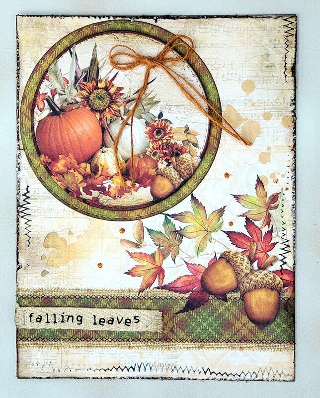 Autum card #2