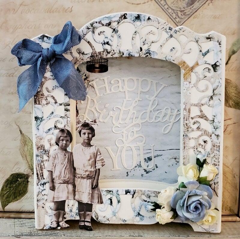 3D box Birthday card
