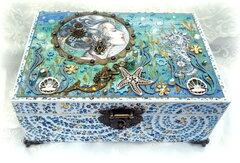 """Reneabouquet June Cigar Box Swap """"Mechanical Sea"""""""