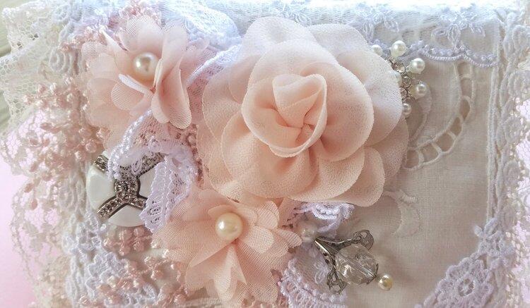 Romantic Shabby Chic Fabric Book