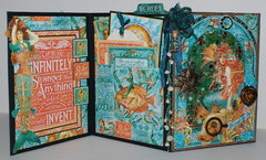Voyage Beneath the Sea Book/Card