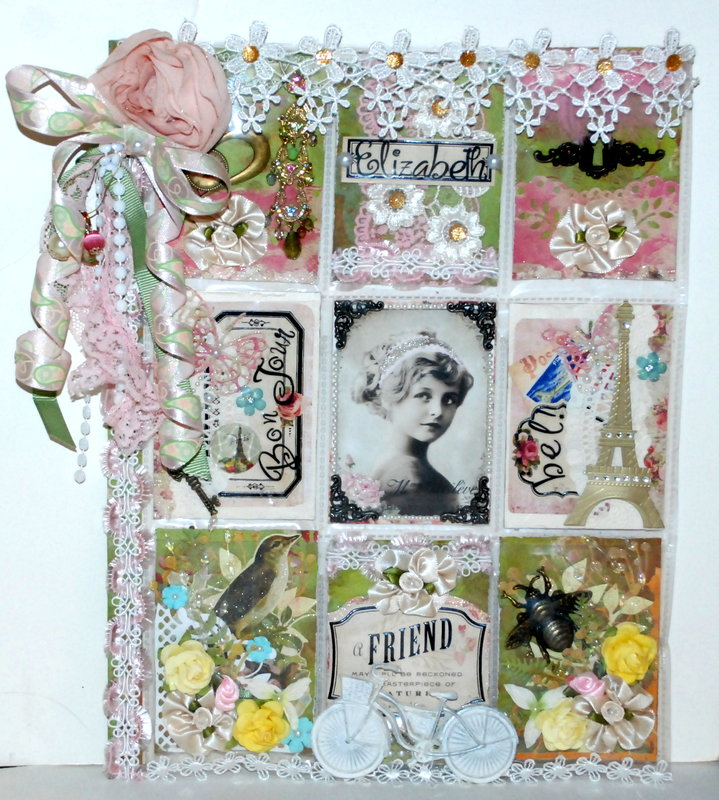 "Shabby Chic ""Springtime in Paris"" PL for Elizabeth"