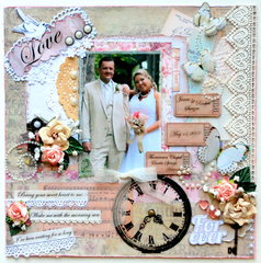 "Shabby Chic Wedding ""Love is..."""