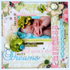 """Dream Sweet Dreams Princess""wk 7/52"