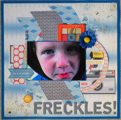"""""""Awesome Freckles"""" wk 16/52"""