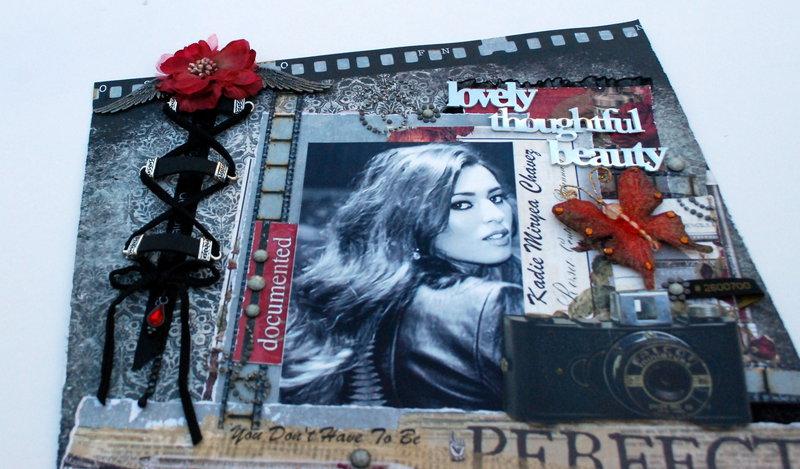 """A Lovely Thoughtful Beauty"""