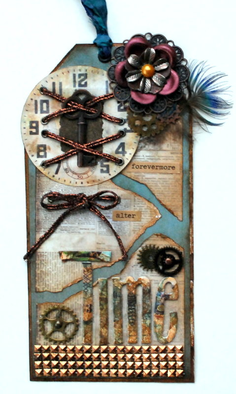"""Tag #1 Steampunk Project """"Alter Time"""""""